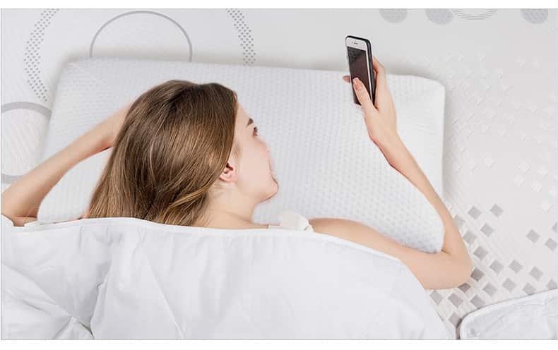 almohada plagocefalia de latex 4