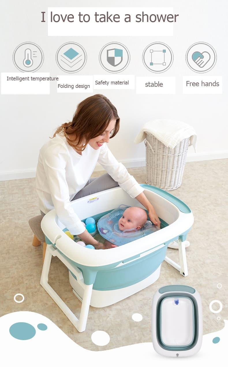 banera de bebe plegable