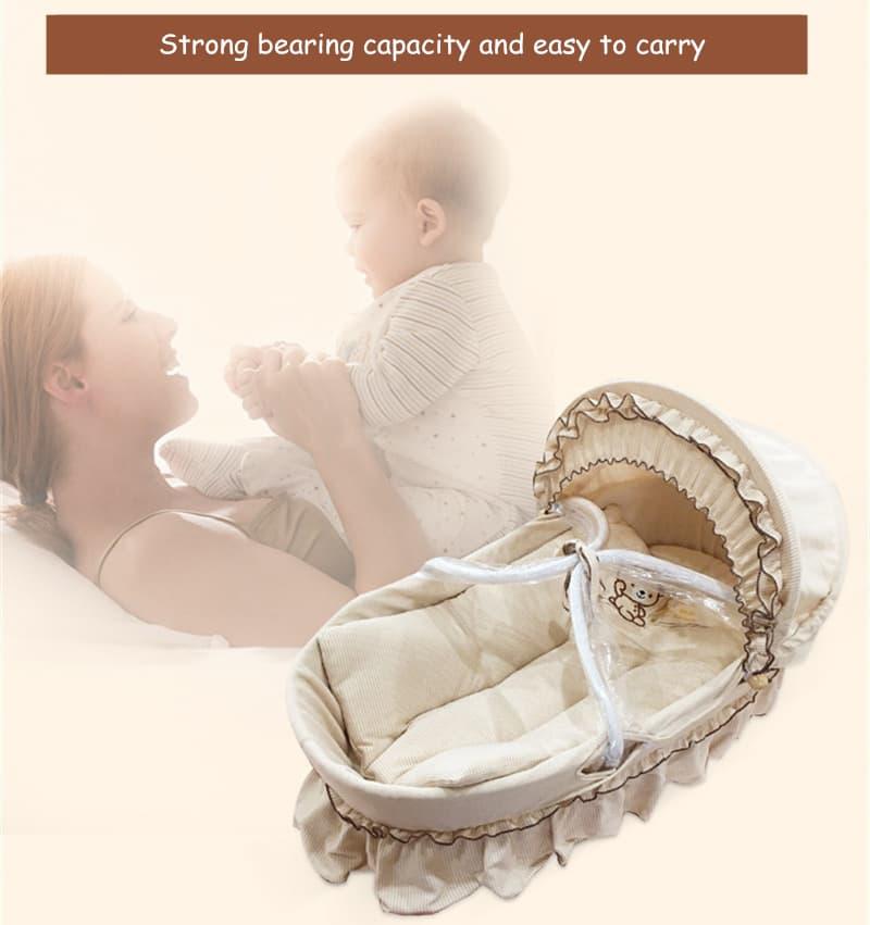 cesta de bebe portatil