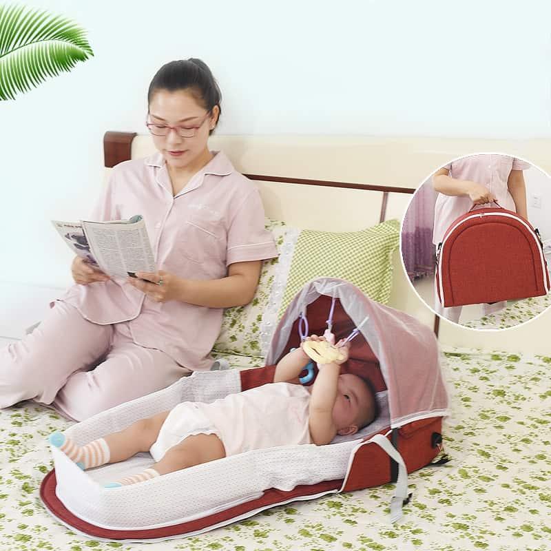 cesta plegable para bebe 3