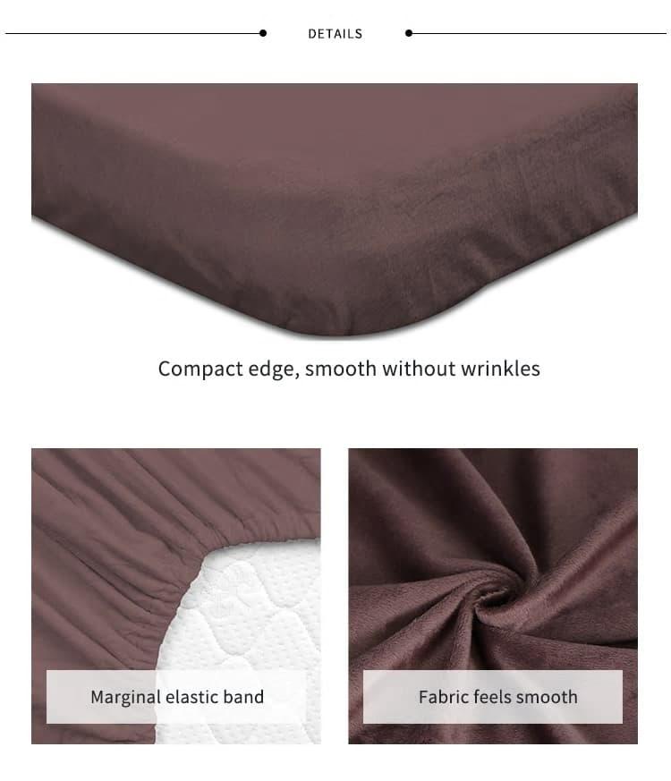 colchon de cuna de microfibra suave 1