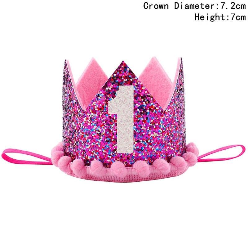 corona de cumpleanos con flores 1