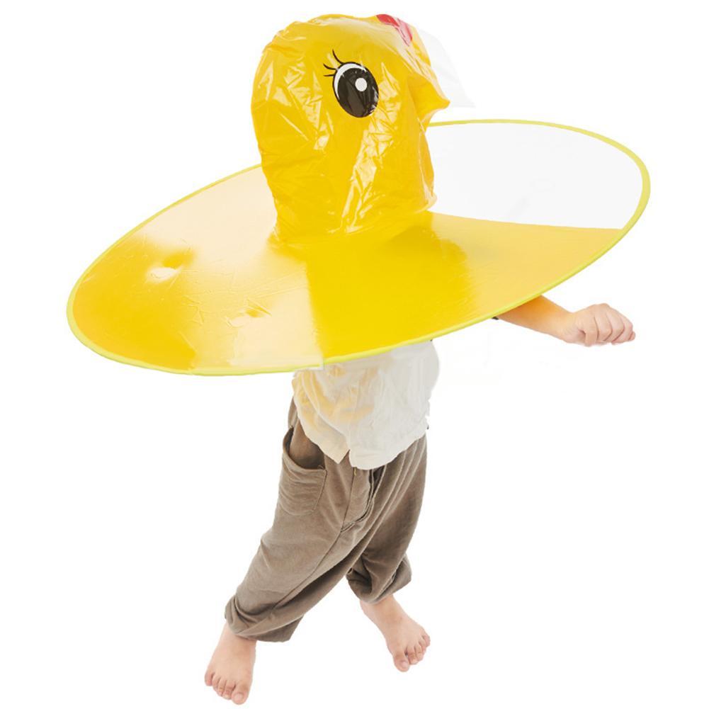 impermeable gallina amarilla