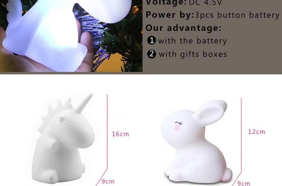 lampara quitamiedos de unicornio 1