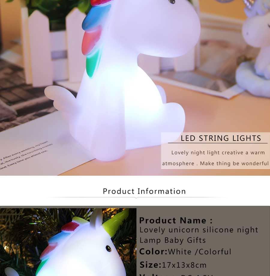 lampara quitamiedos de unicornio