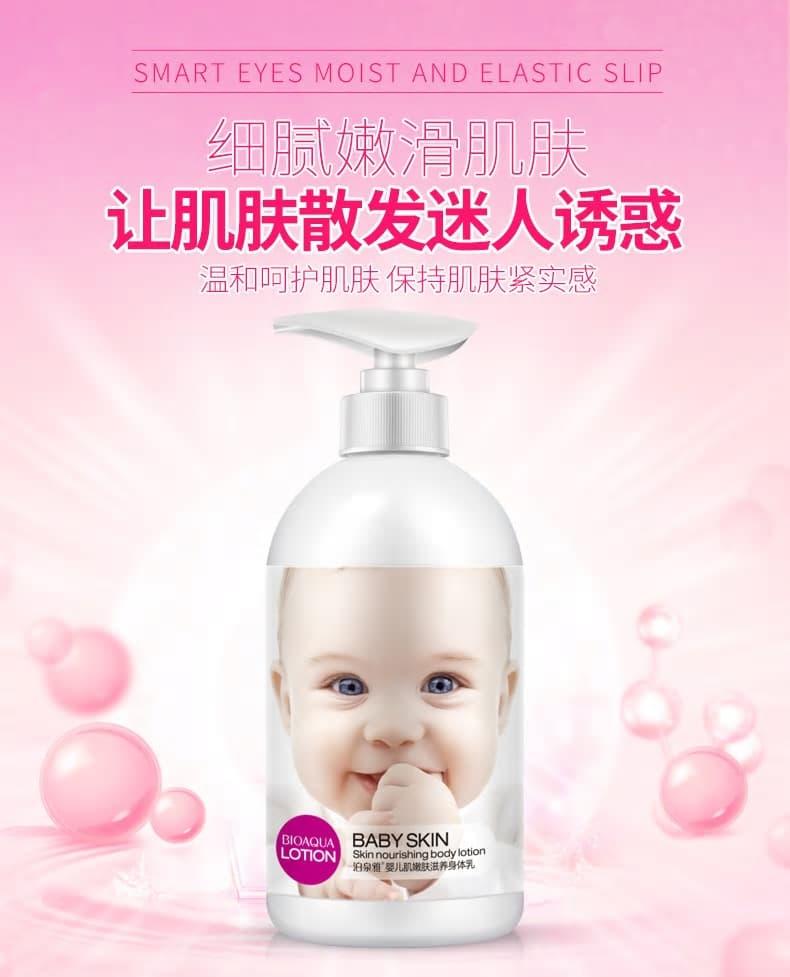 locion corporal para bebe