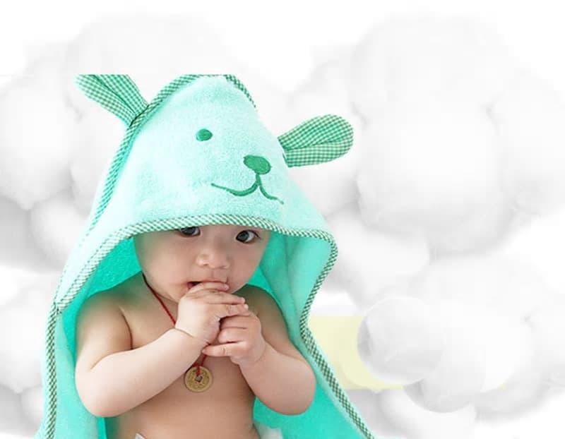 toalla suave para bebe 1