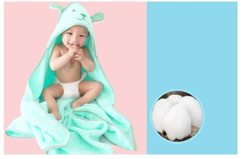 toalla suave para bebe 3