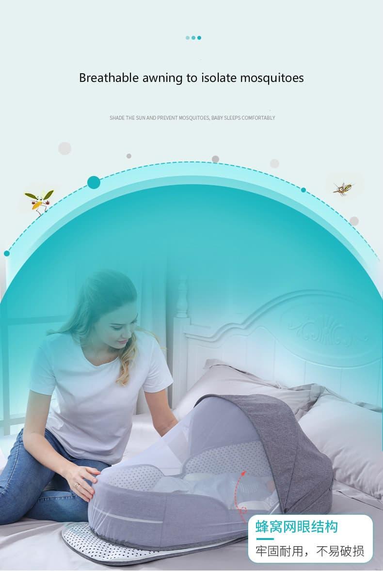nido plegable con mosquitera 2