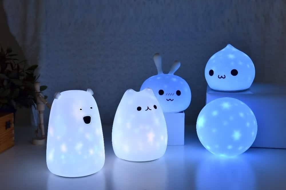 proyector de noche led