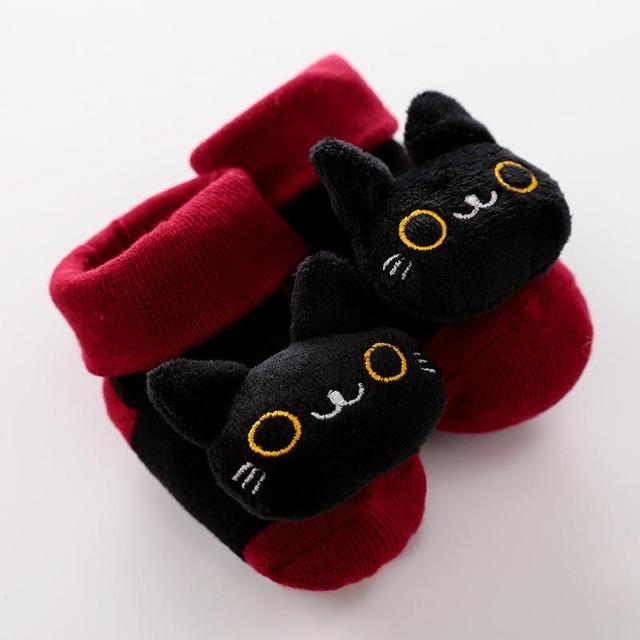 2020 nuevos calcetines de dibujos animados para beb antideslizantes calcetines con sonajero para reci n nacidos.jpg 640x640 1