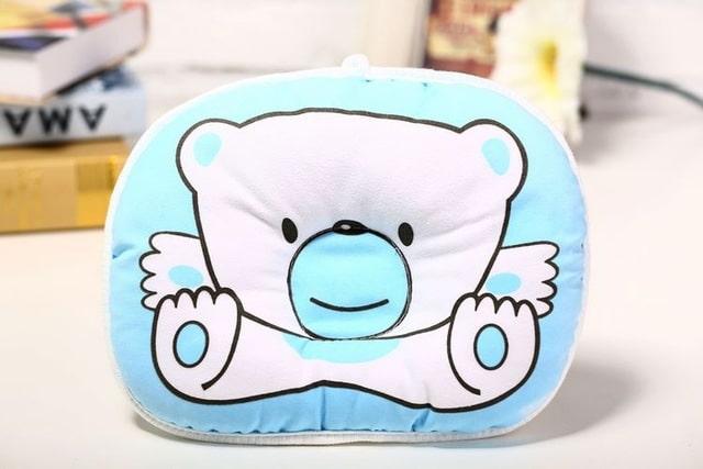 Almohada antivuelco para beb s almohada para evitar el sue o coj n de cabeza plana.jpg 640x640 1