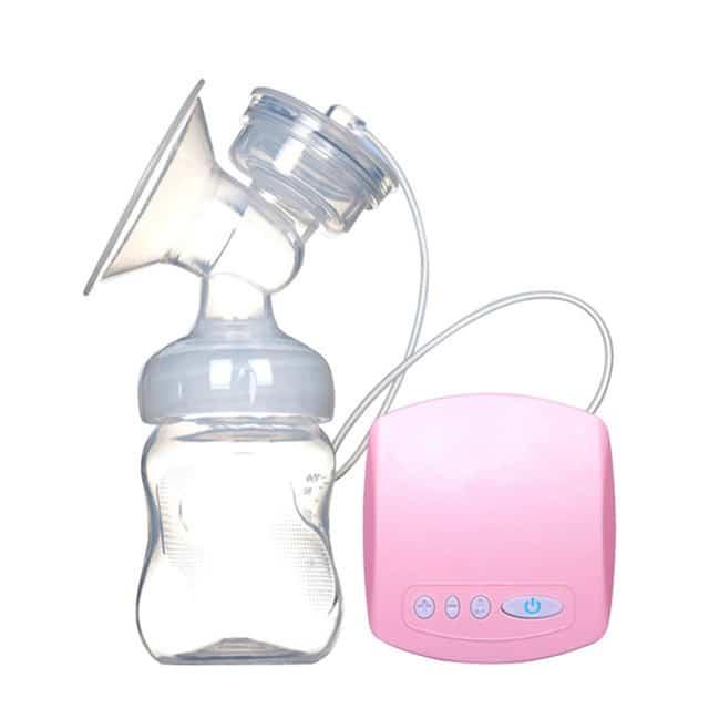 Bomba de leche de masaje el ctrico inteligente con Extractor de botellas de leche sin