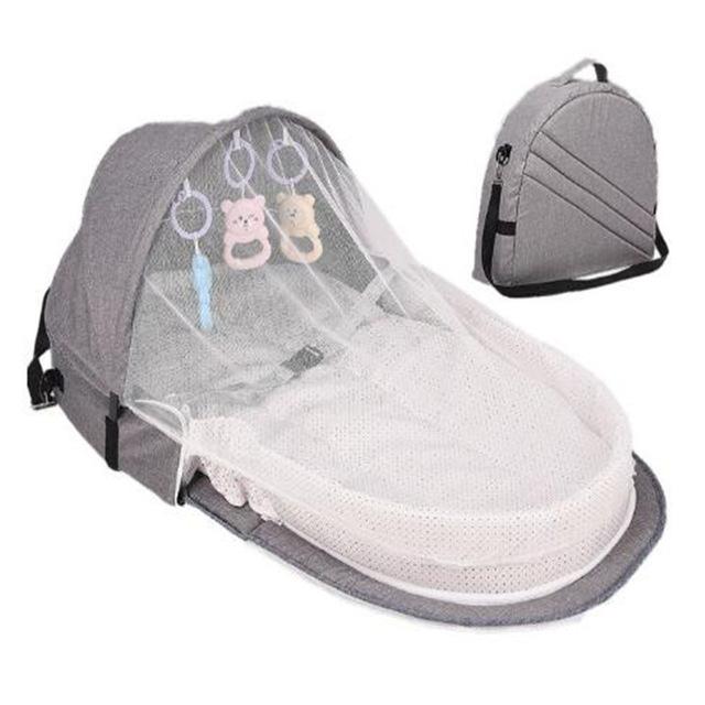 Cuna port til para beb cama plegable para reci n nacido camas de viaje nido
