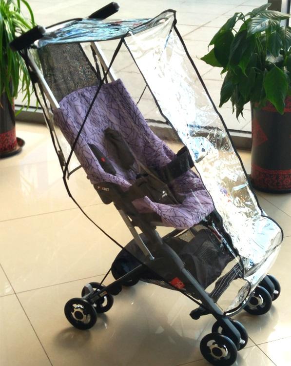 Gb cochecito de beb cochecito con bolsillos cubierta de lluvia sombrilla de cochecito de beb accesorios