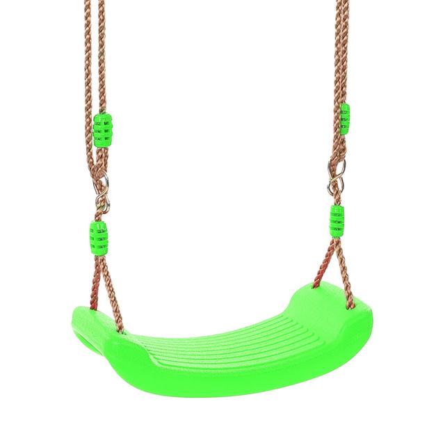 Nuevo Parque Infantil de Seguridad al aire libre divertido juguete deportivo columpio fuerte curvo para