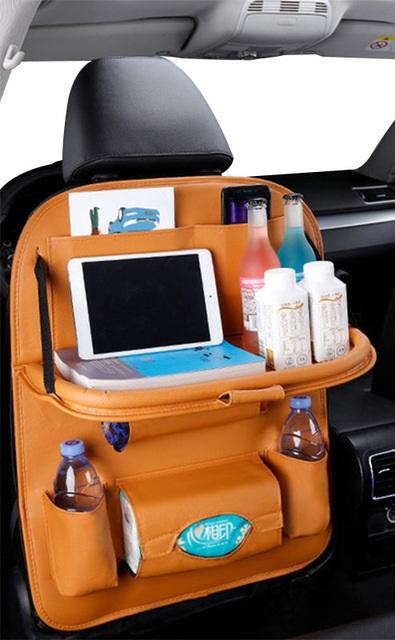 Organizador de asiento trasero de coche bolso de cuero Pu organizador de almacenamiento de coches bandeja.jpg 640x640 2