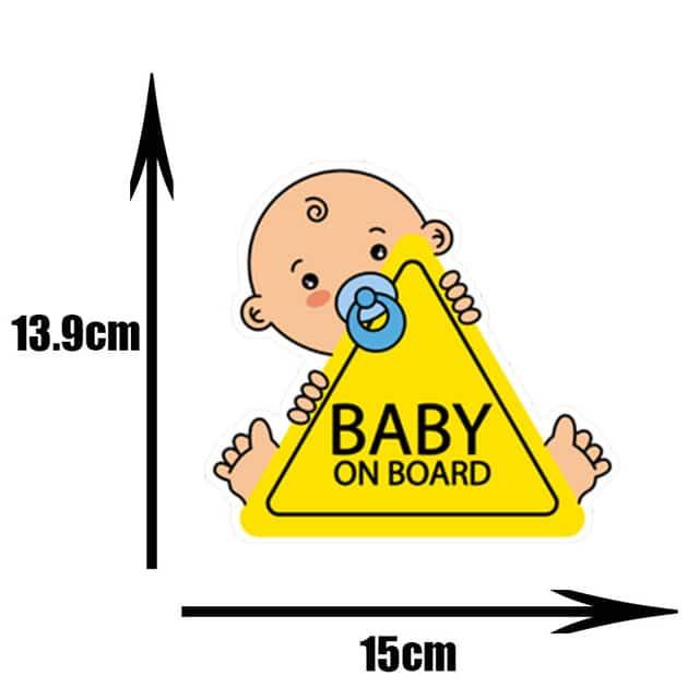 Pegatinas de PVC para coche de beb pegatinas para ventana de dibujos animados decoraci n de.jpg 640x640 1