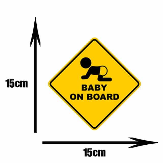 Pegatinas de PVC para coche de beb pegatinas para ventana de dibujos animados decoraci n de.jpg 640x640 10