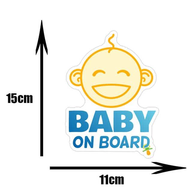 Pegatinas de PVC para coche de beb pegatinas para ventana de dibujos animados decoraci n de.jpg 640x640 11