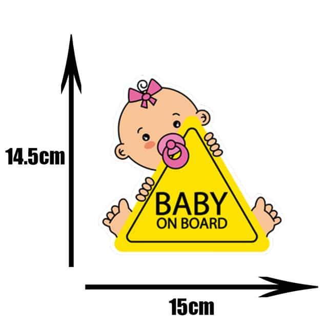 Pegatinas de PVC para coche de beb pegatinas para ventana de dibujos animados decoraci n de.jpg 640x640 2