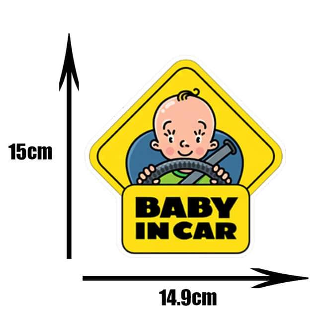Pegatinas de PVC para coche de beb pegatinas para ventana de dibujos animados decoraci n de.jpg 640x640 3