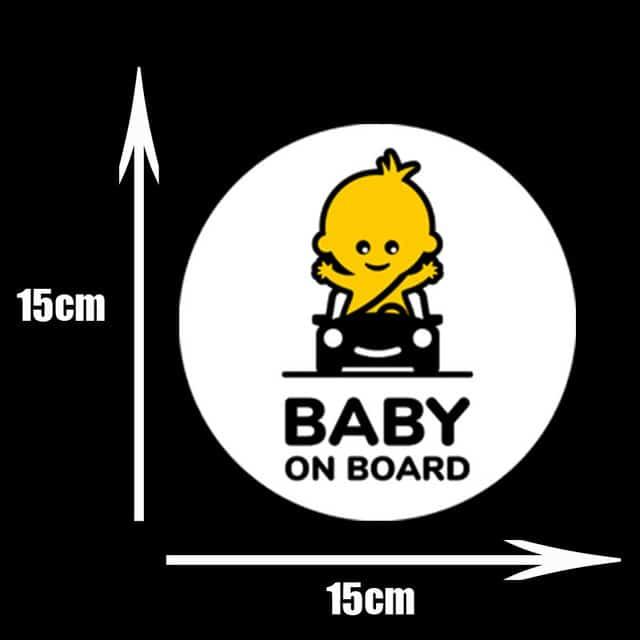 Pegatinas de PVC para coche de beb pegatinas para ventana de dibujos animados decoraci n de.jpg 640x640 4
