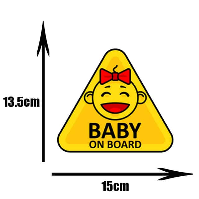 Pegatinas de PVC para coche de beb pegatinas para ventana de dibujos animados decoraci n de.jpg 640x640 7