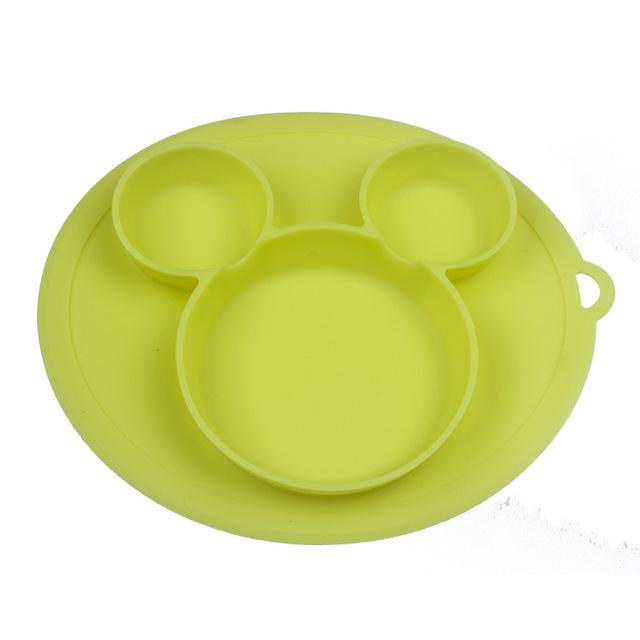Plato de silicona para beb s platos tipo taz n de alimentaci n de beb Bol.jpg 640x640 1