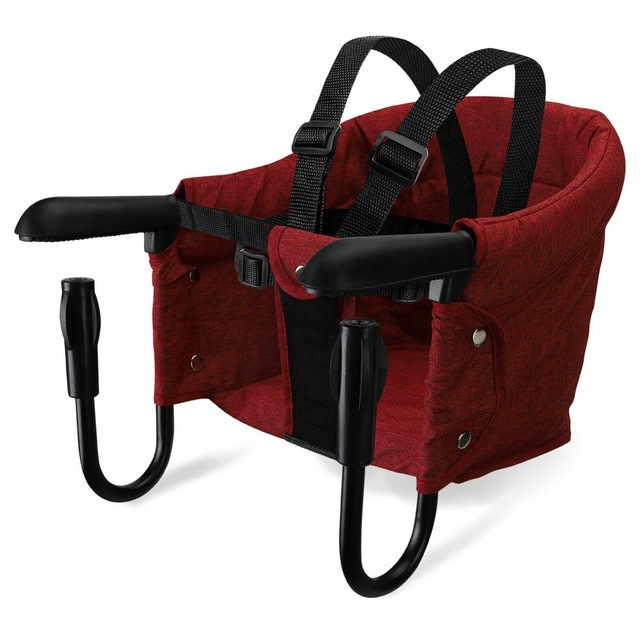Silla de beb port til silla de alimentaci n plegable asiento de refuerzo cintur n de.jpg 640x640 1