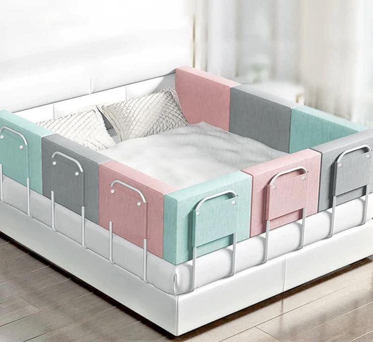 barandilla para cama varios colores