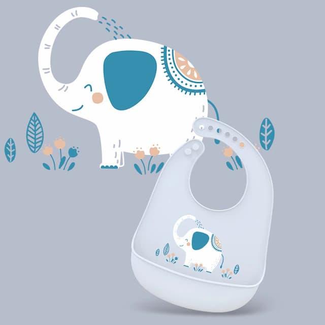 Babero de beb ajustable imagen de Animal impermeable Baberos de goteo de Saliva Toalla de Ssaliva.jpg 640x640 1