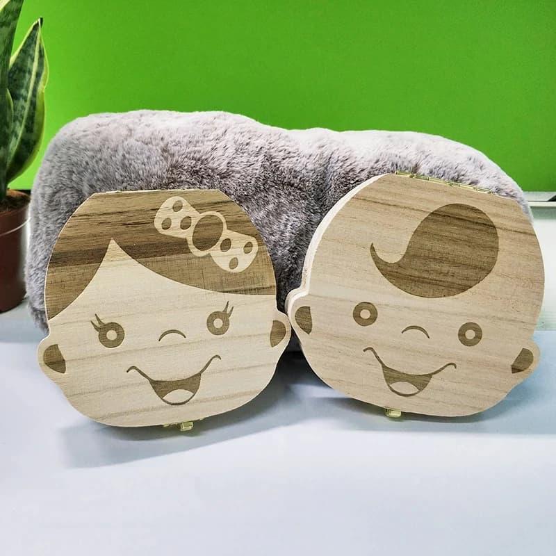Caja de madera para guardar los dientes de los beb s organizador de los dientes del.jpg Q90.jpg