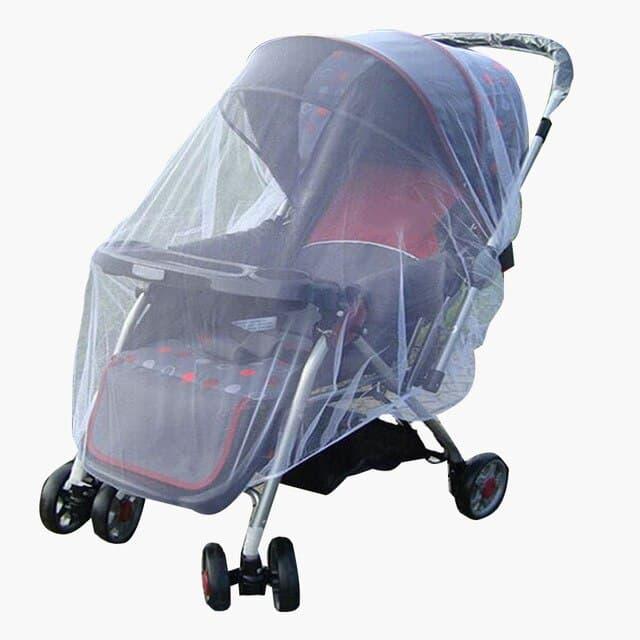 Cochecito de beb con mosquitera red de protecci n contra insectos malla de protecci n