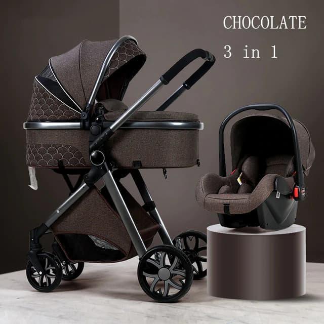 Cochecito de beb de lujo 3 en 1 carrito de beb de paisaje alto carrito port.jpg 640x640 2
