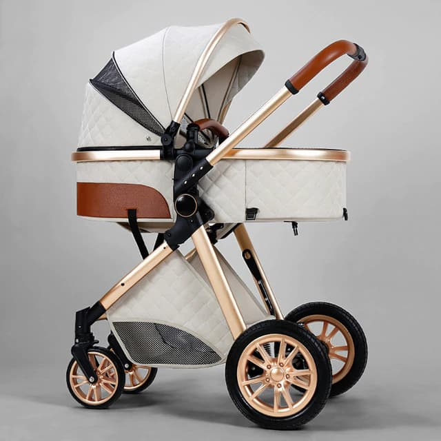 Cochecito de beb de lujo 3 en 1 carrito de beb de paisaje alto carrito port.jpg 640x640 4