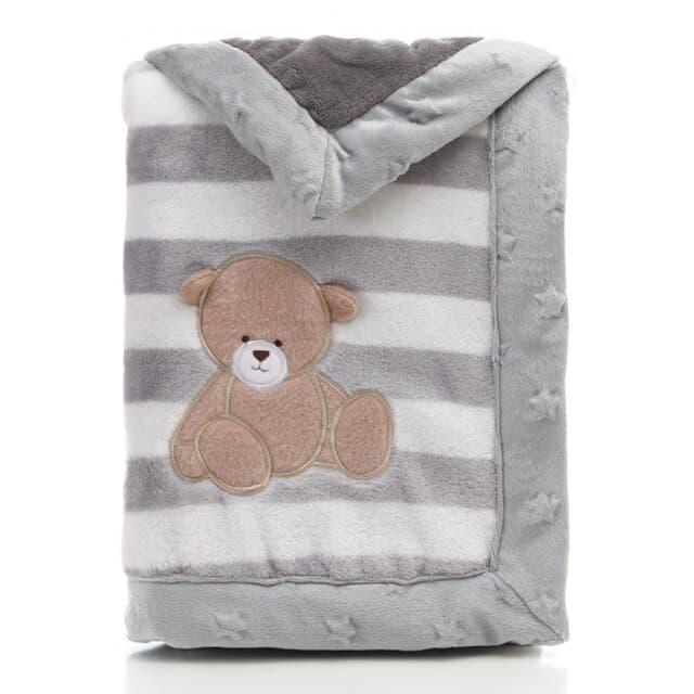 MOTOHOOD Manta polar para beb ropa de cama envolvente manta polar suave t rmica para reci.jpg 640x640 1
