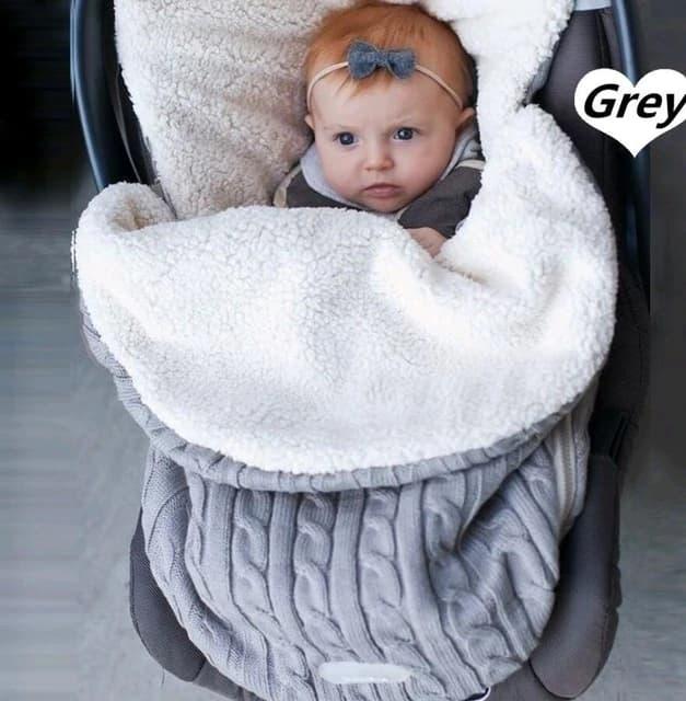 Manta c lida de punto para beb reci n nacido saco de dormir suave saco de.jpg 640x640 1
