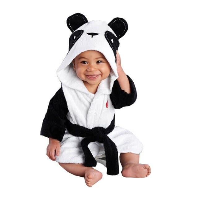 Albornoz de animales para reci n nacido albornoz con capucha para beb toalla para ba o.jpg 640x640 1
