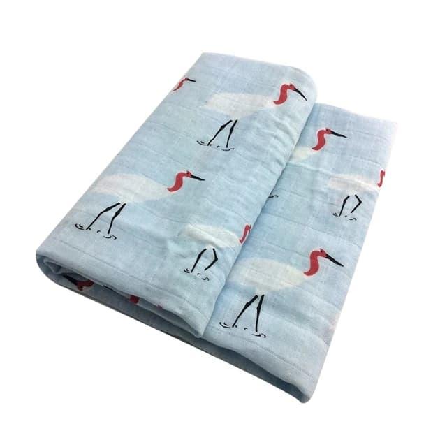 Mantas de algod n para beb reci n nacido manta de algod n org nico suave.jpg 640x640 4