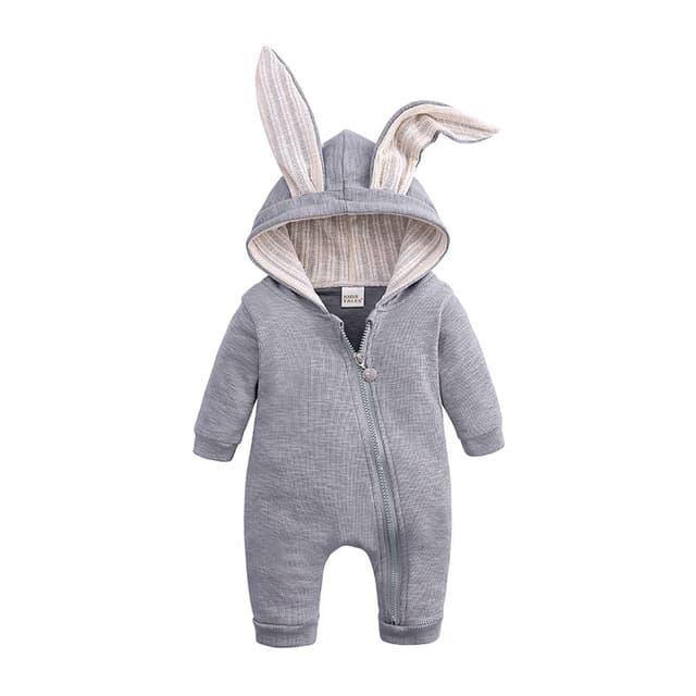 Ropa para beb reci n nacido peleles de conejito para beb Sudadera con capucha de algod.jpg 640x640 3 1