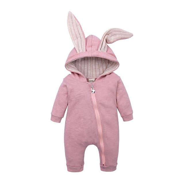 Ropa para beb reci n nacido peleles de conejito para beb Sudadera con capucha de algod.jpg 640x640 4 1