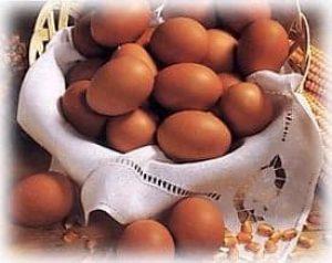 llevar huevos a las clarisas