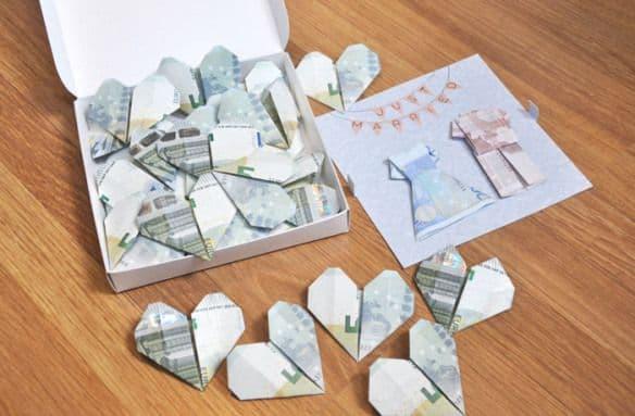 dar dinero boda